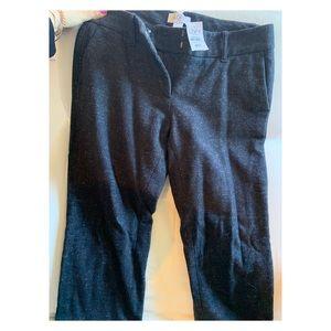 Loft Straight Legged Wool Trousers NWT in 4P